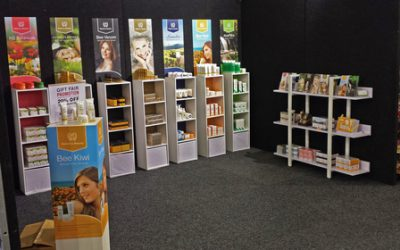 natures beauty spring gift fair stand 2013
