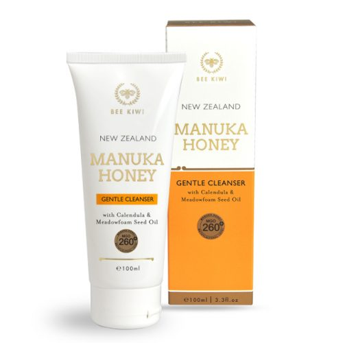New Zealand Bee Kiwi manuka honey gentle cleanser with box