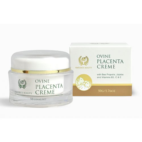 New Zealand Nature's Beauty ovine placenta cream with box