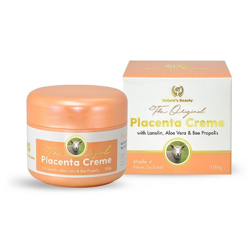 New Zealand Nature's Beauty placenta creme with box