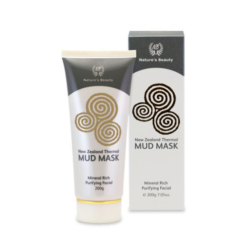 New Zealand Nature's Beauty rotorua thermal mud mask with box