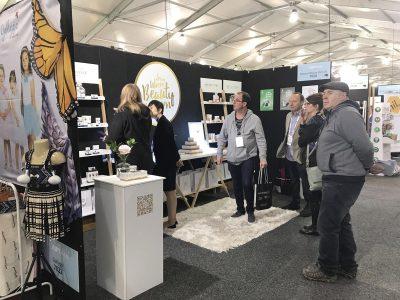 customers at natures beauty gift fair 2017