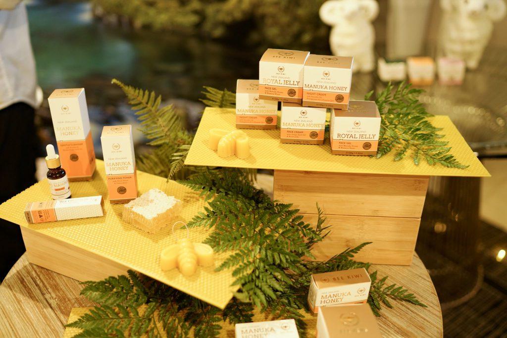 bee kiwi event display