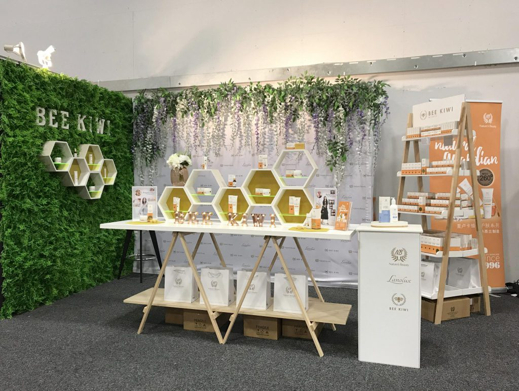 bee kiwi products at lifestyle expo 2018